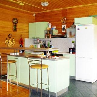 Современный коттедж 313 кв.м на 17 сотках ИЖС в Рощино (Выборгский) продается. Кухня