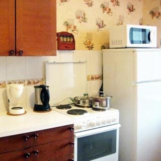Однокомнатная квартира 47 кв.м на Шлиссельбургском проспекте (Невский, МО-52, Рыбацкое) продается. Кухня 10.5 кв.м, плита - электрическая