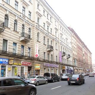 Трехкомнатная квартира 91 кв.м в переулке Гривцова (Адмиралтейский, МО-2, Сенной) продается. Фасад дома