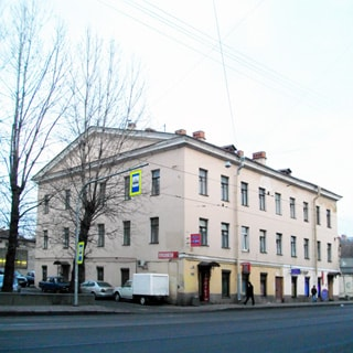 Двухкомнатная квартира 71 кв.м на Расстанной улице (Фрунзенский, МО-71, Волковское) продается. Фасад дома