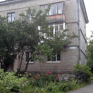 Однокомнатная квартира 40 кв.м в Пушкине на Московской улице (Пушкинский, МО город Пушкин) продается. Фасад дома