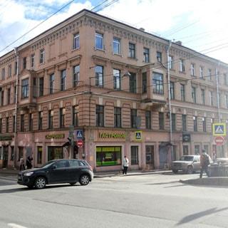 Шестикомнатная квартира 166 кв.м на канале Грибоедова (Адмиралтейский, МО-2, Сенной) продается. Фасад дома