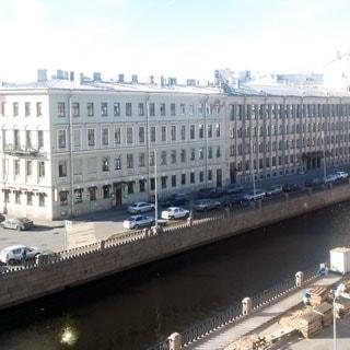 Двухкомнатная квартира 45 кв.м на канале Грибоедова (Адмиралтейский, МО-3) продается. Вид из окон на канал Грибоедова