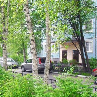 Трехкомнатная квартира 57 кв.м в Учебном переулке (Выборгский, МО-16, Парнас) продается. Фасад дома